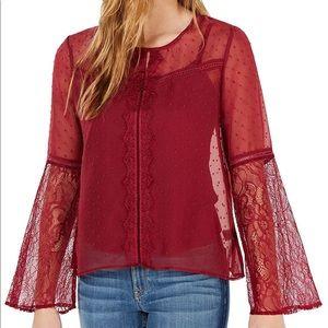 Self esteem merlot blouse for junior XS